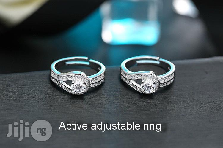 925 Sterling Silver Engagement Ring | Wedding Wear & Accessories for sale in Ojodu, Lagos State, Nigeria