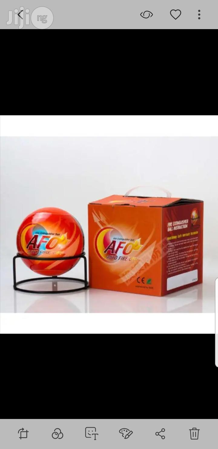 Afootol Automatic Fire Extinguisher Ball | Safetywear & Equipment for sale in Lagos Island (Eko), Lagos State, Nigeria