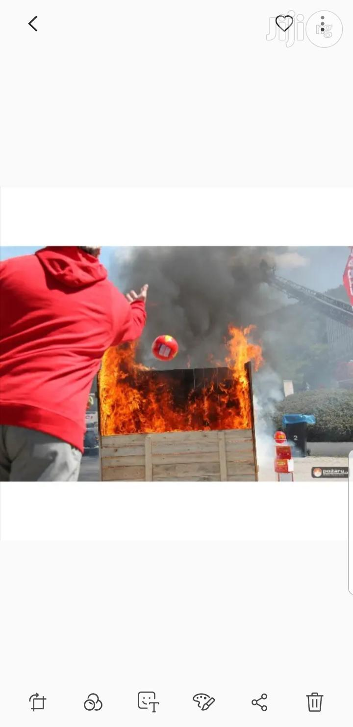 Afootol Automatic Fire Extinguisher Ball