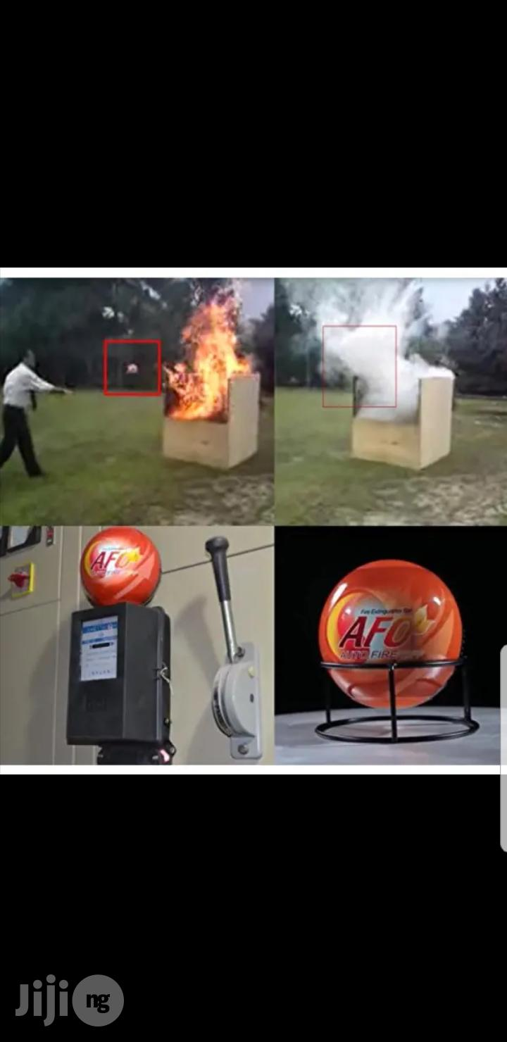 Afootol Automatic Fire Extinguisher Ball   Safetywear & Equipment for sale in Lagos Island (Eko), Lagos State, Nigeria