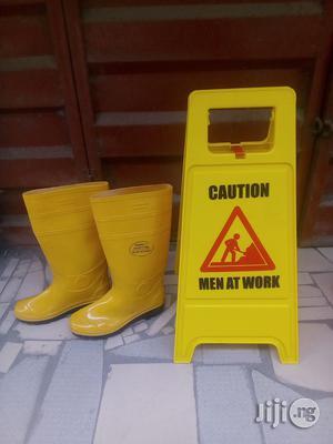 Safety Rainboot & Men At Work | Safetywear & Equipment for sale in Lagos State