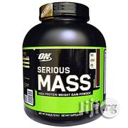 Optimum Nutrition Serious Mass, Chocolate, 6 Lbs (2.72 Kg | Vitamins & Supplements for sale in Lagos State, Ikeja