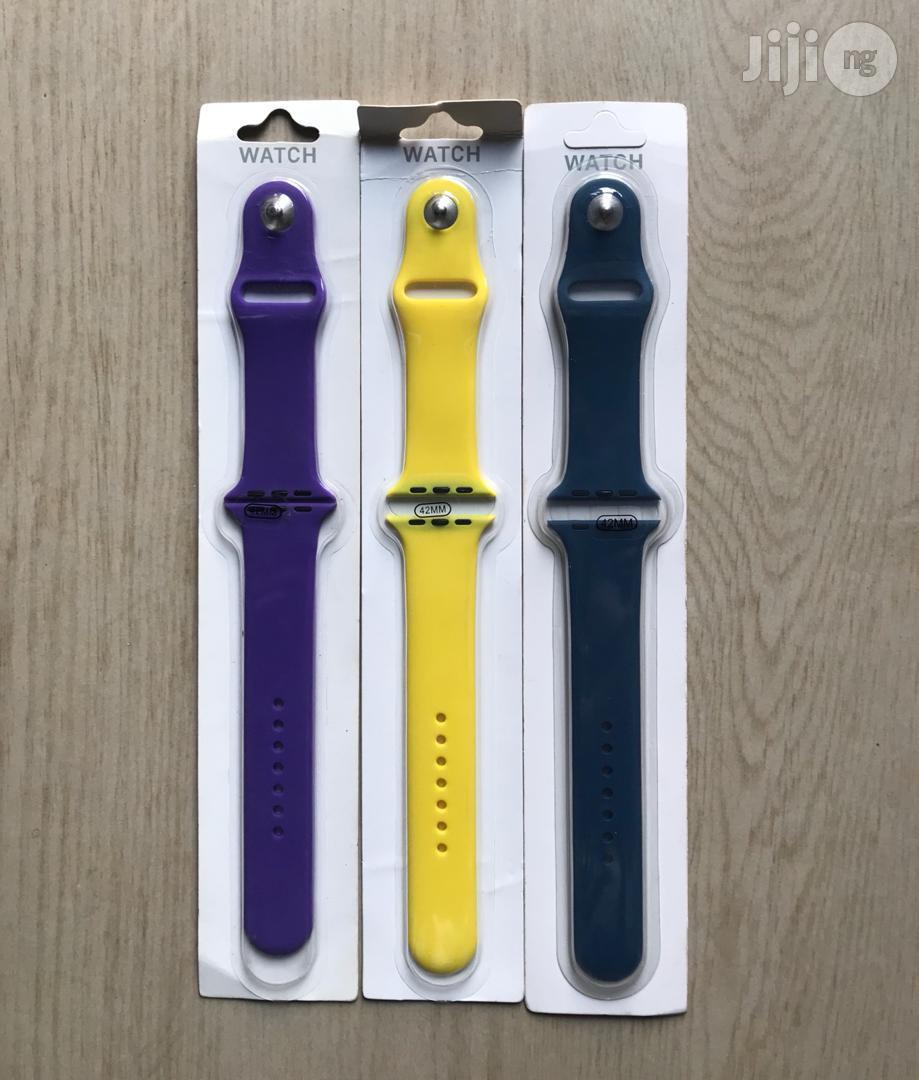 Iwatch Strap All Colors Available | Accessories for Mobile Phones & Tablets for sale in Ikeja, Lagos State, Nigeria