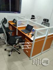 Quality Office Workstation Table by 4   Furniture for sale in Lagos State, Ajah