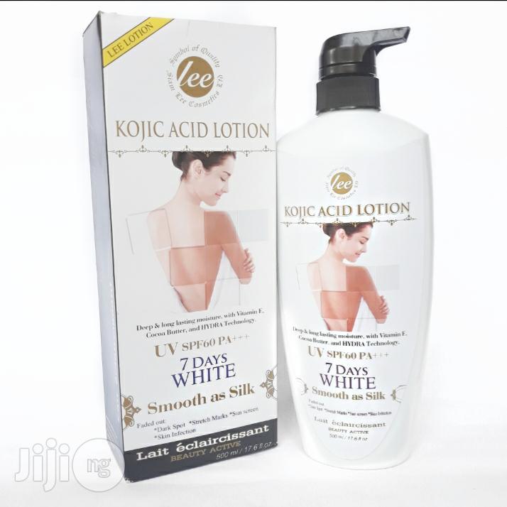 Lee Kojic Acid Lotion, Pack Size: 500 Ml | Skin Care for sale in Amuwo-Odofin, Lagos State, Nigeria