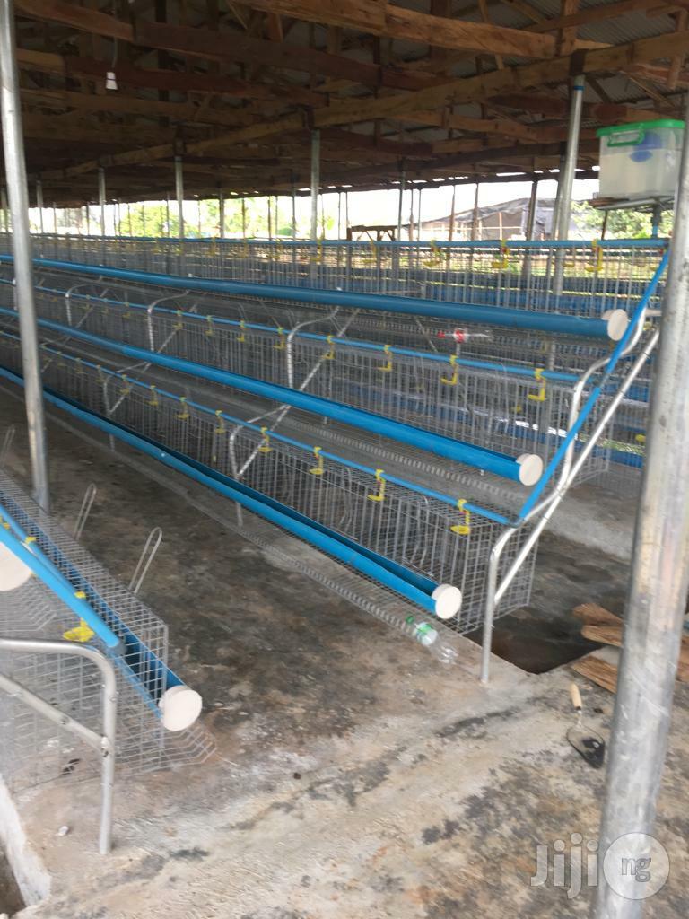 Dekoraj Farms Layers Battery Cage | Farm Machinery & Equipment for sale in Ikorodu, Lagos State, Nigeria