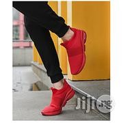 Fashion Men's Breathable Casual Sport Sneaker - Red(+ 1 Free Pair of Socks)   Shoes for sale in Abuja (FCT) State, Asokoro