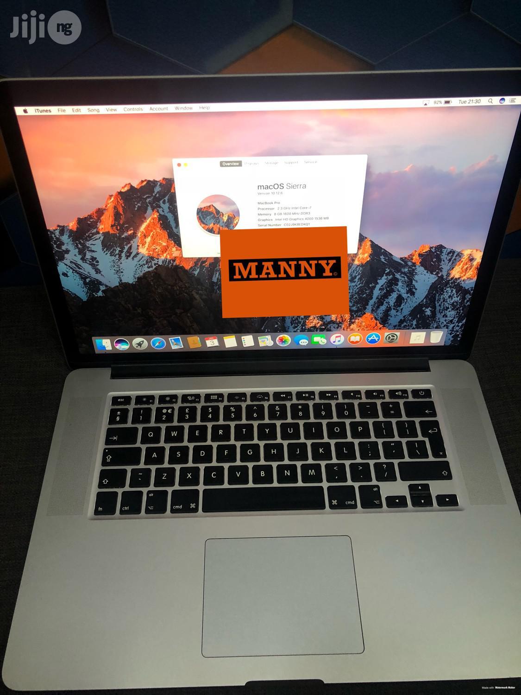 Archive: Macbook Pro 15.6 Inches 256 Gb Core I7 8 Gb Ram