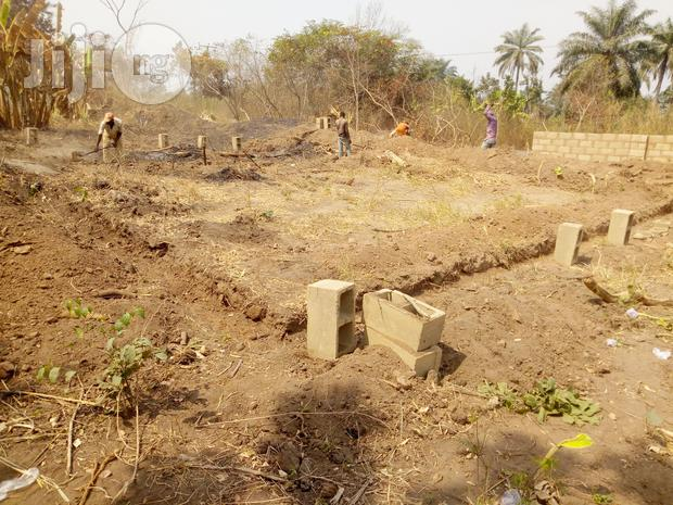 Archive: A Plot Of Land With Foundation Of A Bungalow At Elenusonso, Ibadan