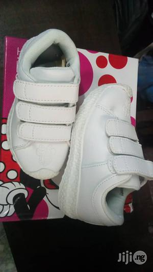 White Mickey Mouse Canvas Sneakers | Children's Shoes for sale in Lagos State, Lagos Island (Eko)