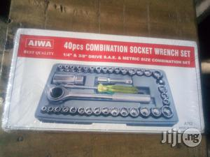 """Set Of 40pcs Combination Wrench 1/4"""" & 3/8"""" Drive 