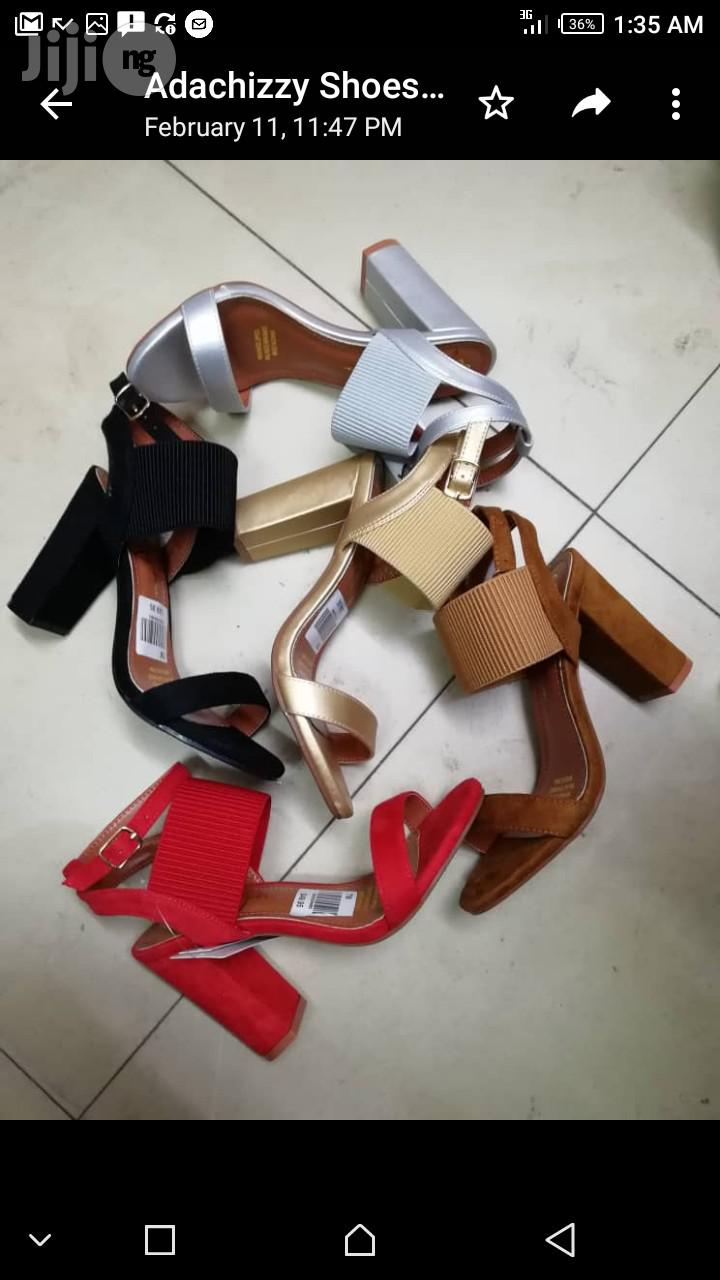 Stylish Females Sandals 4 Inches Block Heel | Shoes for sale in Lagos Island (Eko), Lagos State, Nigeria