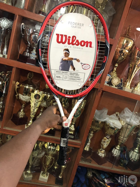 Professional Wilson Lawn Tennis Racket