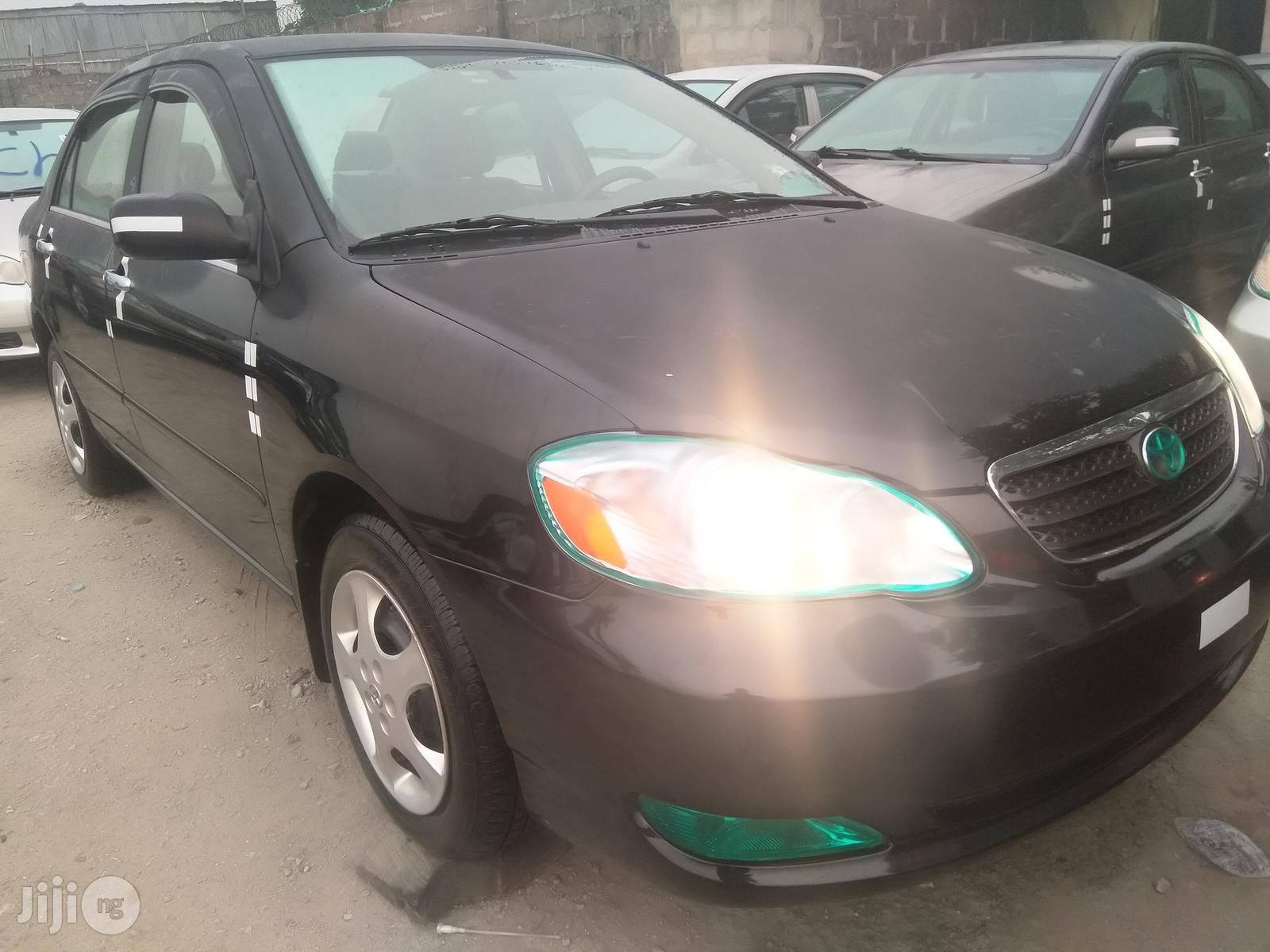 Archive Tokunbo Toyota Corolla 2007 Gray In Lagos State Cars Obj Automobile Gmi Jiji Ng