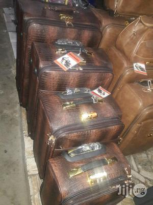 4 Set Leather Trolley Luggage | Bags for sale in Lagos State, Ikeja