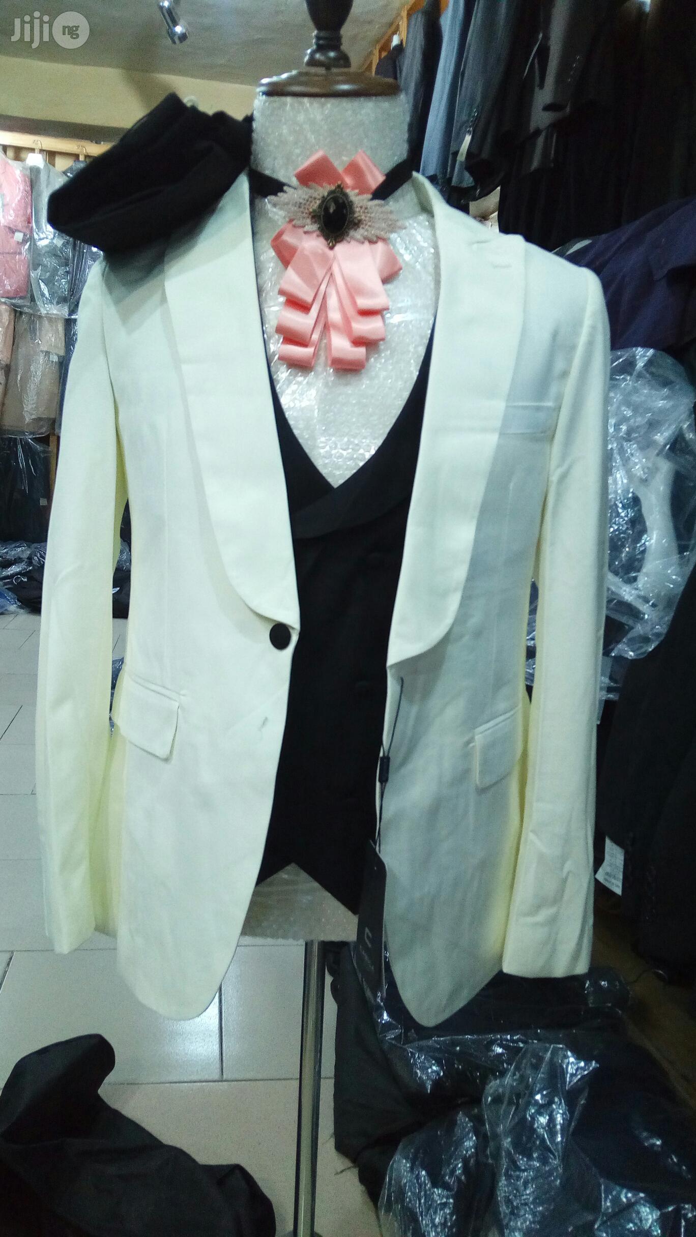 3pcs Cream Colour | Clothing for sale in Lagos Island (Eko), Lagos State, Nigeria