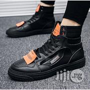 Fashion Men's Sneakers High Top Sport Shoes Canvas Breathable Running Sneakers.   Shoes for sale in Lagos State, Lekki Phase 1