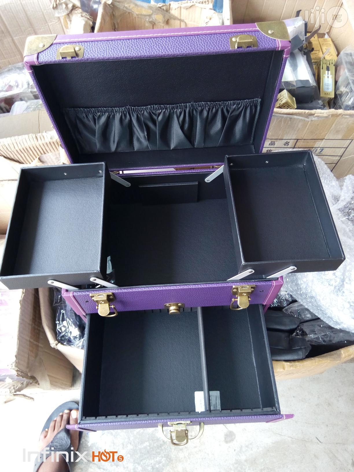 Makeup Box | Tools & Accessories for sale in Amuwo-Odofin, Lagos State, Nigeria