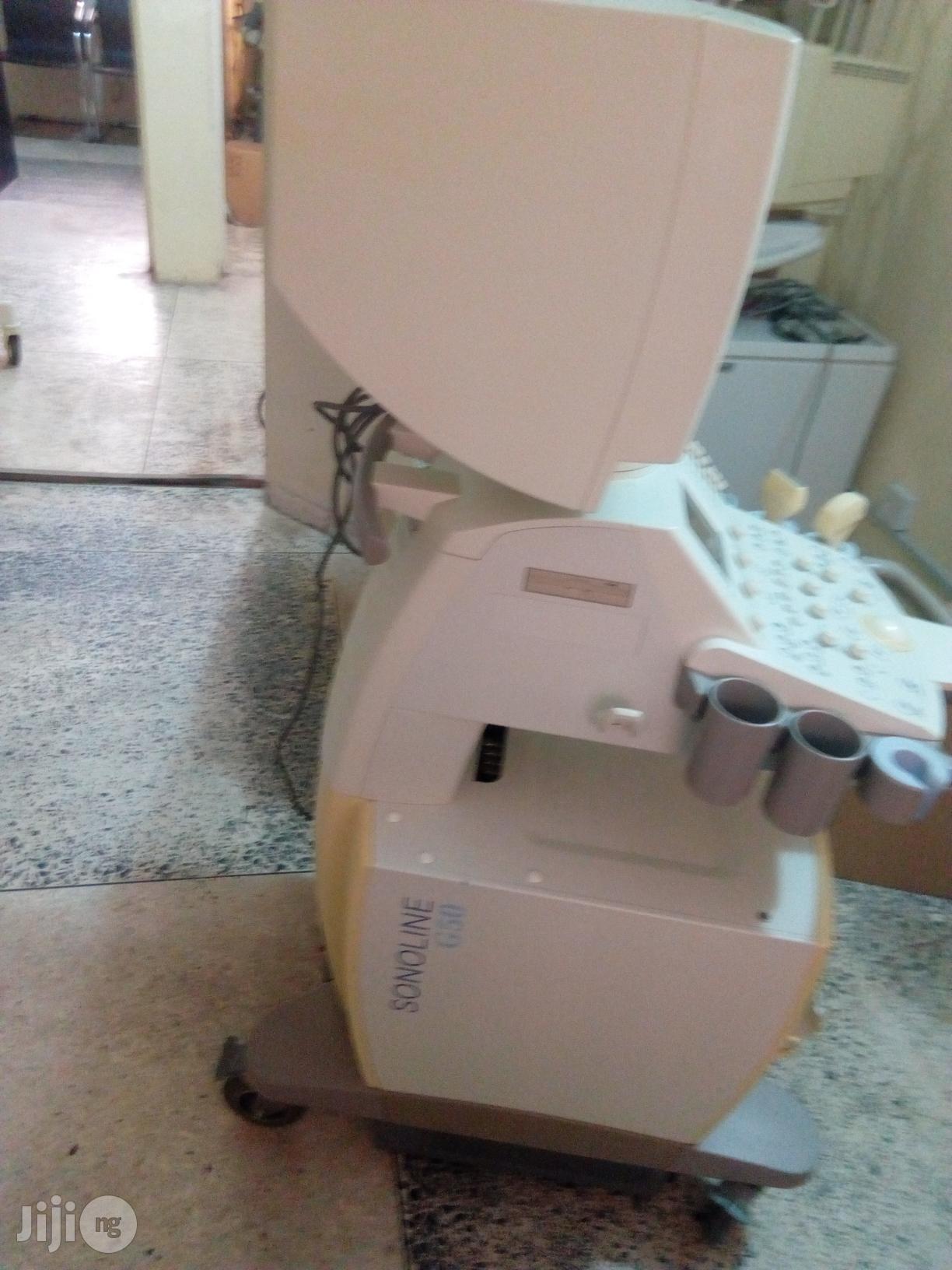 Siemens Sonoline Prima Ultrasound Diagnostic System Sonoline G50 3D