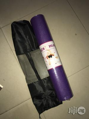 Yoga Mat Or Aerobic Mat   Sports Equipment for sale in Lagos State, Surulere