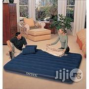 Intex Inflatable Air Bed With Pump - 2 Person | Furniture for sale in Rivers State, Emohua