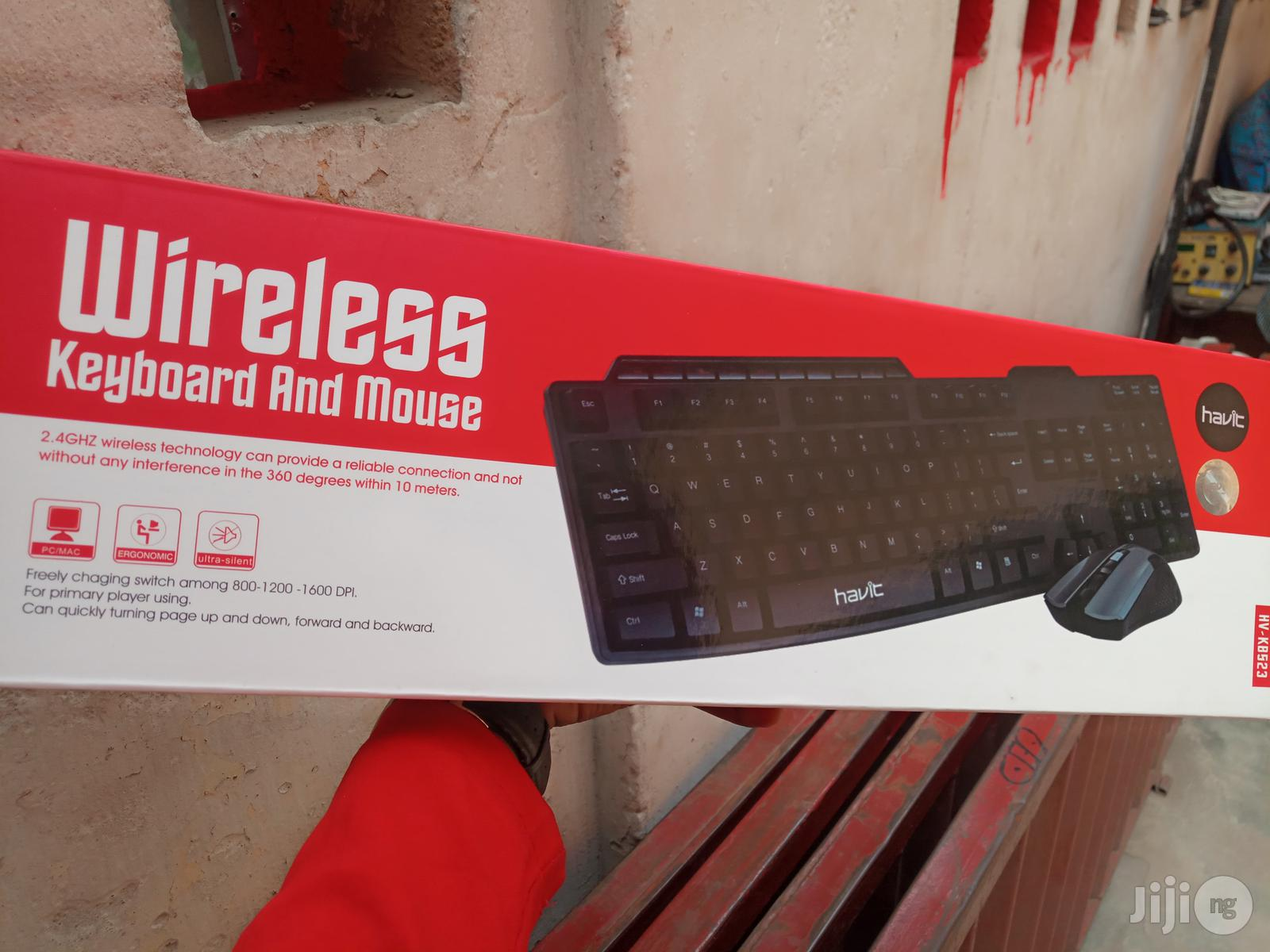 Havit Gaming Wireless Keyboard And Mouse HV-KB523