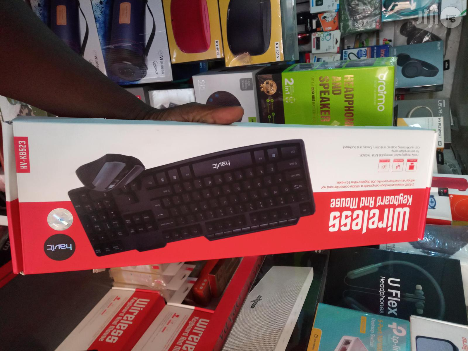 Havit Gaming Wireless Keyboard And Mouse HV-KB523 | Computer Accessories  for sale in Ikeja, Lagos State, Nigeria