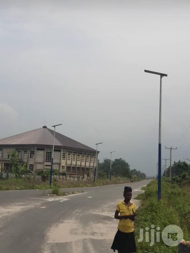 All In One Solar Street Light, Complete With Pole