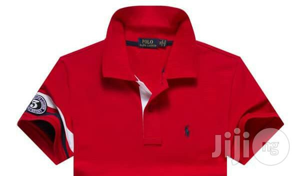 Archive: Original Brand Red Designers Tshirts With Hand-Band Number by RLP