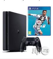 Sony PS4 500GB + FIFA 19 Bundle - Jet Black | Video Game Consoles for sale in Lagos State, Ikeja