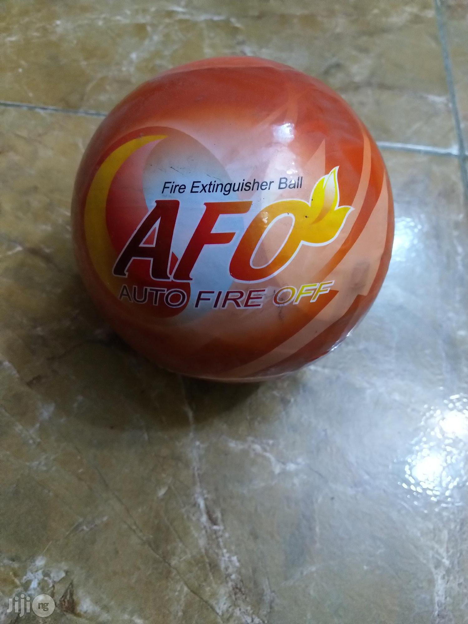 AFO - Automatic Fire Extinguisher Ball   Safety Equipment for sale in Ikoyi, Lagos State, Nigeria