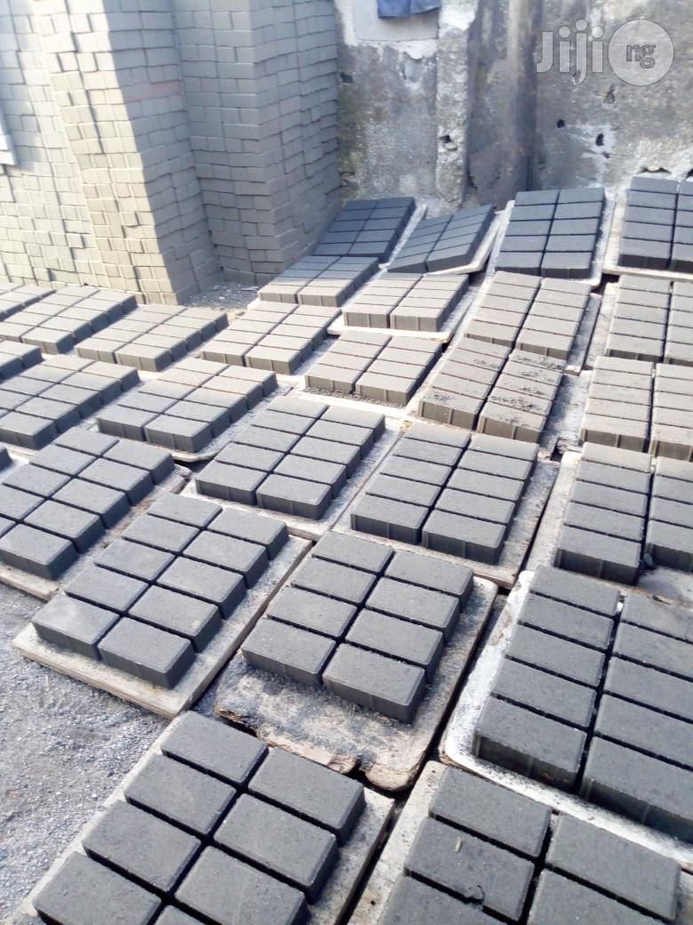 Road Paving Stone 8 Cm Thickness