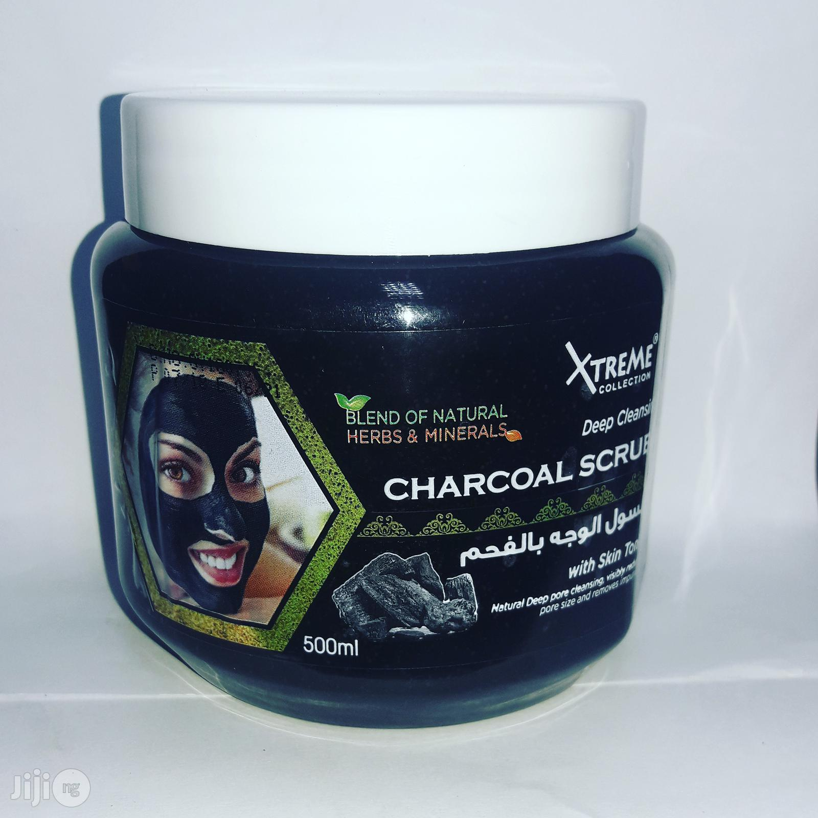 Xtreme Deep Cleansing Charcoal Scrub