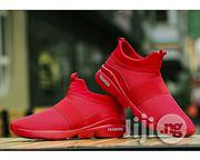 Breathable Casual Sport Sneaker - Red   Shoes for sale in Abuja (FCT) State, Utako