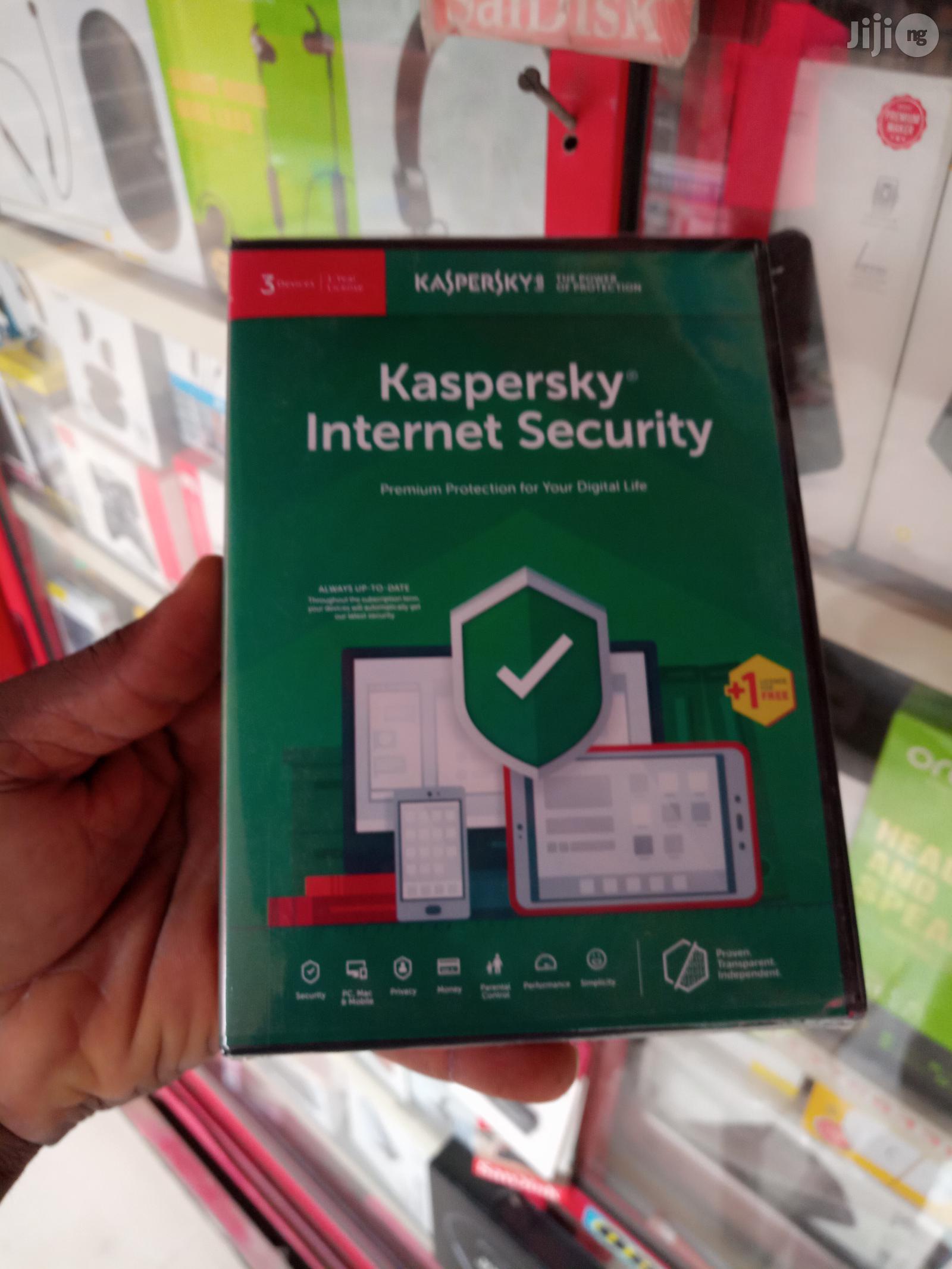 Kaspersky Internet Security 3+1 User