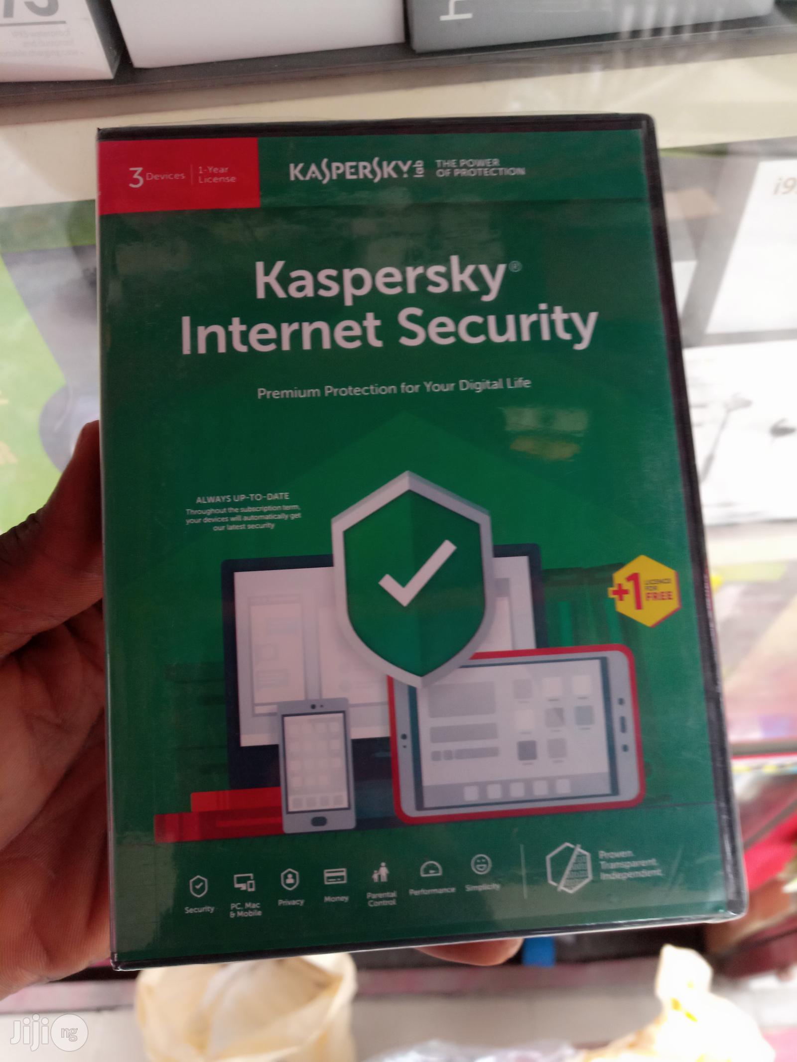 Kaspersky Internet Security 3+1 User | Software for sale in Ikeja, Lagos State, Nigeria