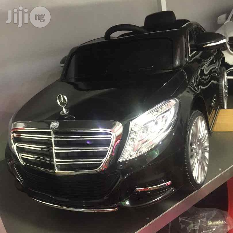 Mercedes Maybach S600 Electric Ride-On Toy Car for Kids