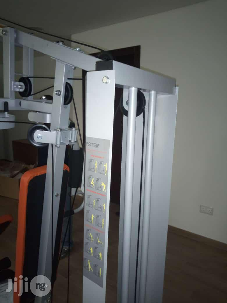 American Fitness Commercial Station Gym