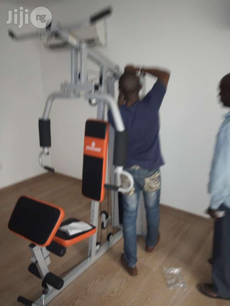 American Fitness Commercial Station Gym | Sports Equipment for sale in Galadimawa, Abuja (FCT) State, Nigeria