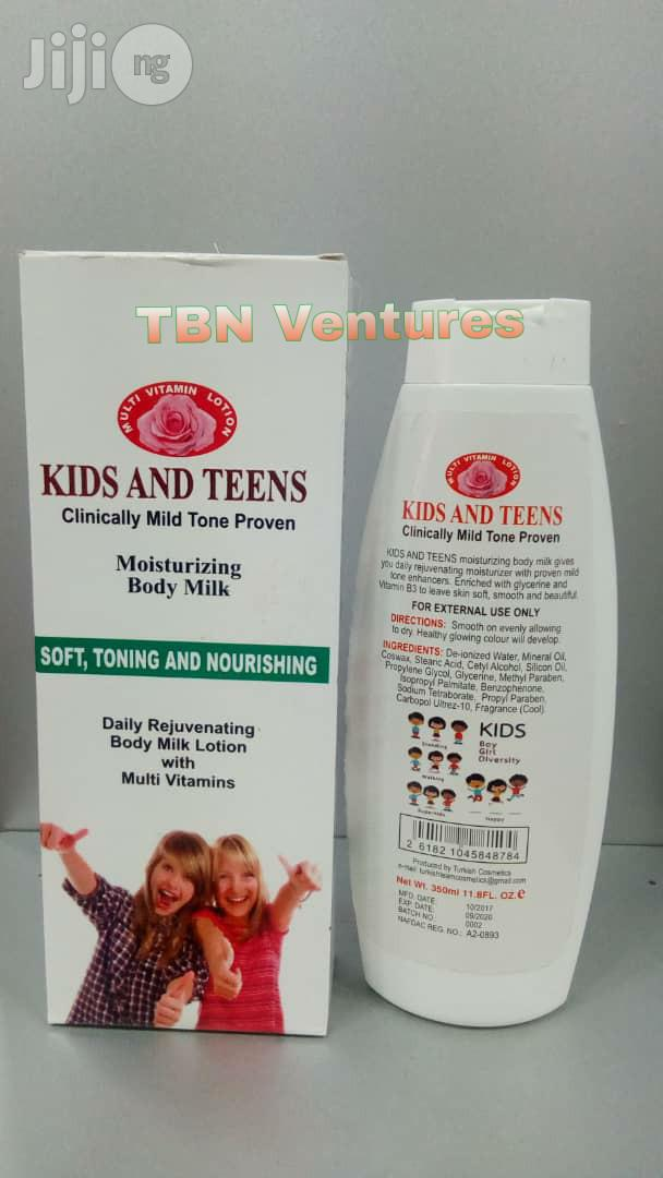 Kids And Teens Moisturizing Body Lotion -350ml | Baby & Child Care for sale in Amuwo-Odofin, Lagos State, Nigeria