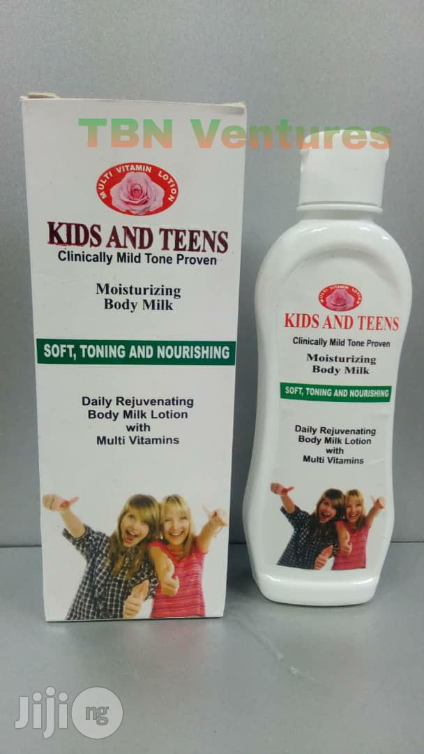 Kids and Teens Moisturizing Body Lotion -200ml (N14,500 Per Dozen)