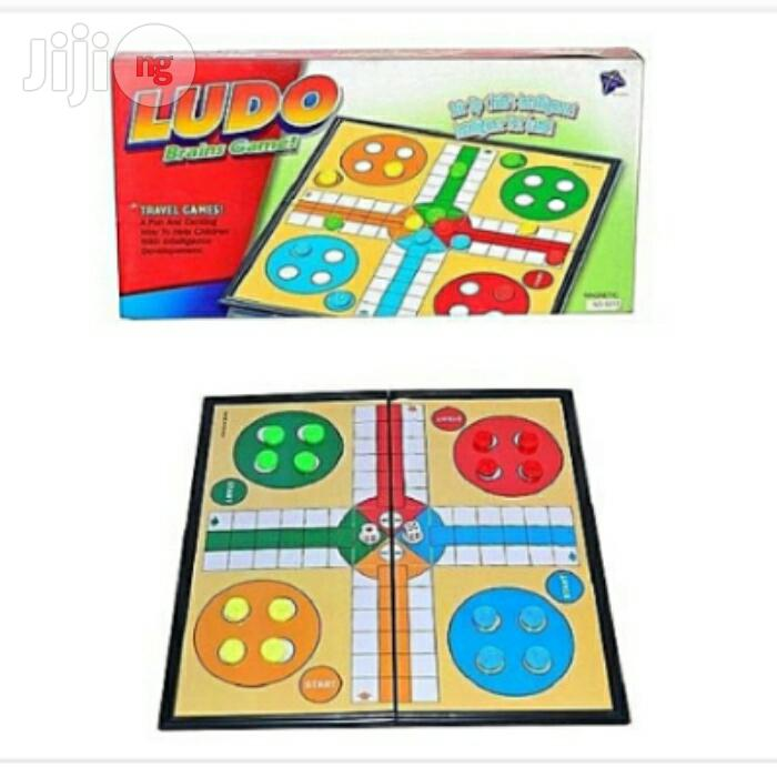 Magnetic Ludo Game