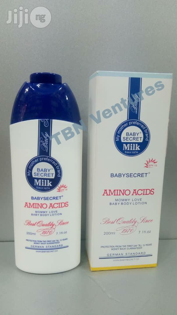 Archive: Baby Secret Milk Amino Acids Mommy Love Baby Body Lotion -200ml