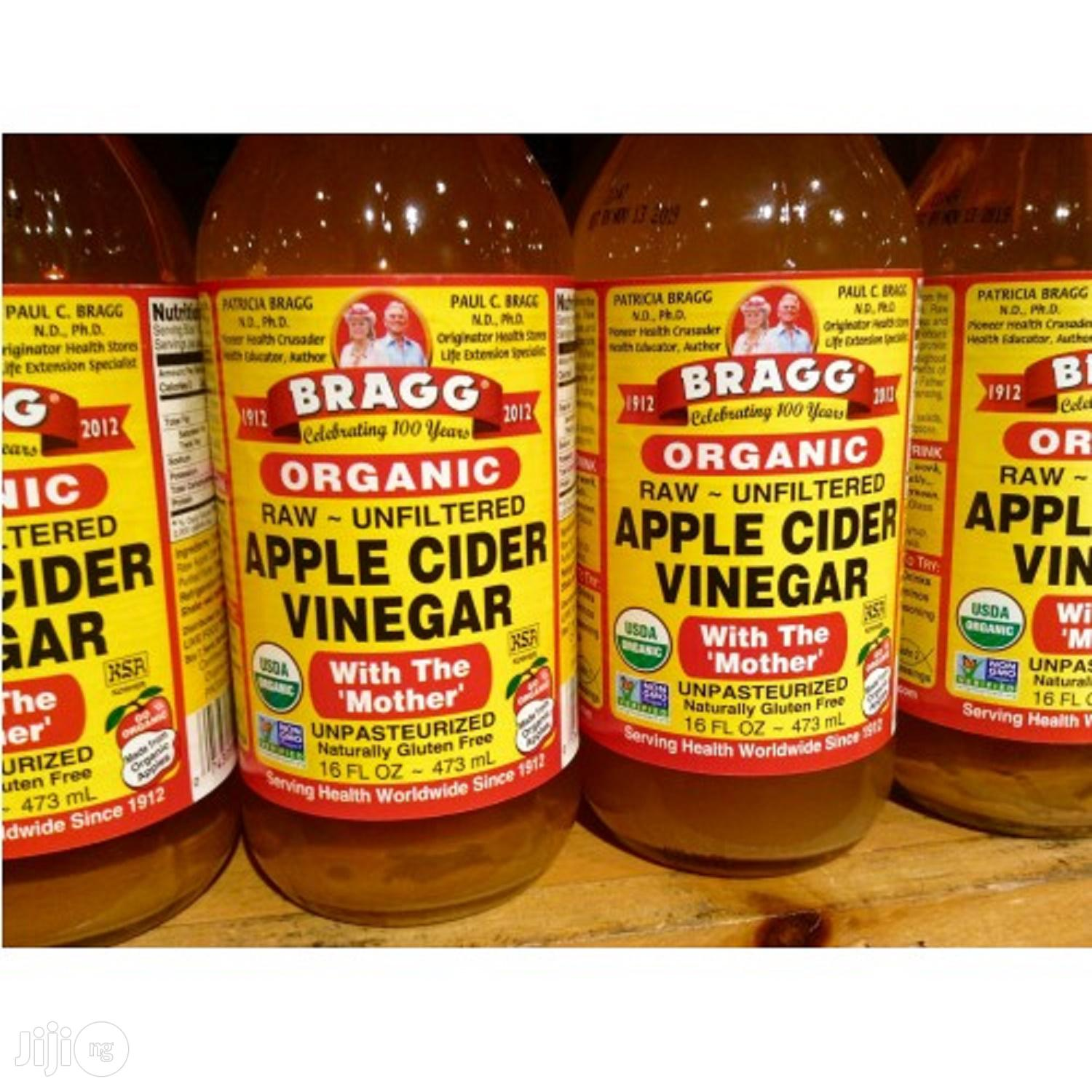 Bragg Organic Apple Cider Vinegar (Raw/Unfiltered) With 'the Mother' - 946ml, 32oz, 1litre
