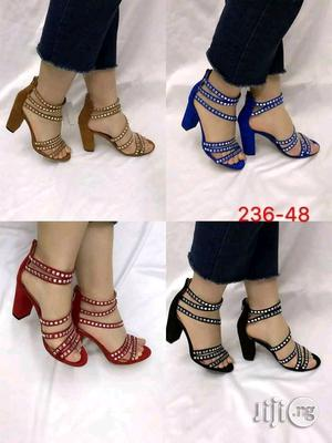 Classic Design Block Heel Shoes | Shoes for sale in Lagos State, Surulere