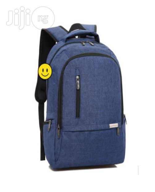 Unique Anti Theft Backpack With USB Charging Port