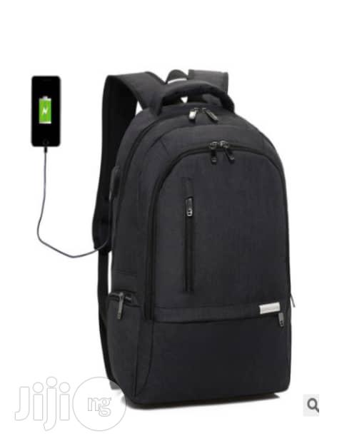 Unique Anti Theft Backpack With USB Charging Port | Bags for sale in Surulere, Lagos State, Nigeria