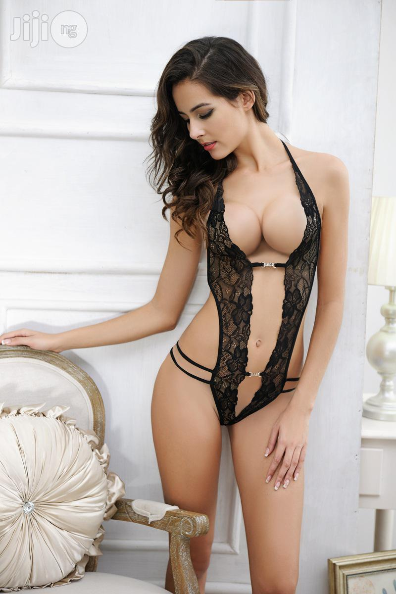 Temptation Perspective Sexy Lace Siamese Sexy Lingerie | Clothing for sale in Surulere, Lagos State, Nigeria