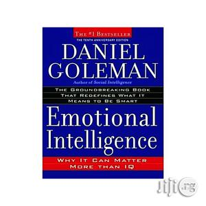 Emotional Intelligence: Why It Can Matter More Than IQ by Daniel Goleman | Stationery for sale in Lagos State, Oshodi
