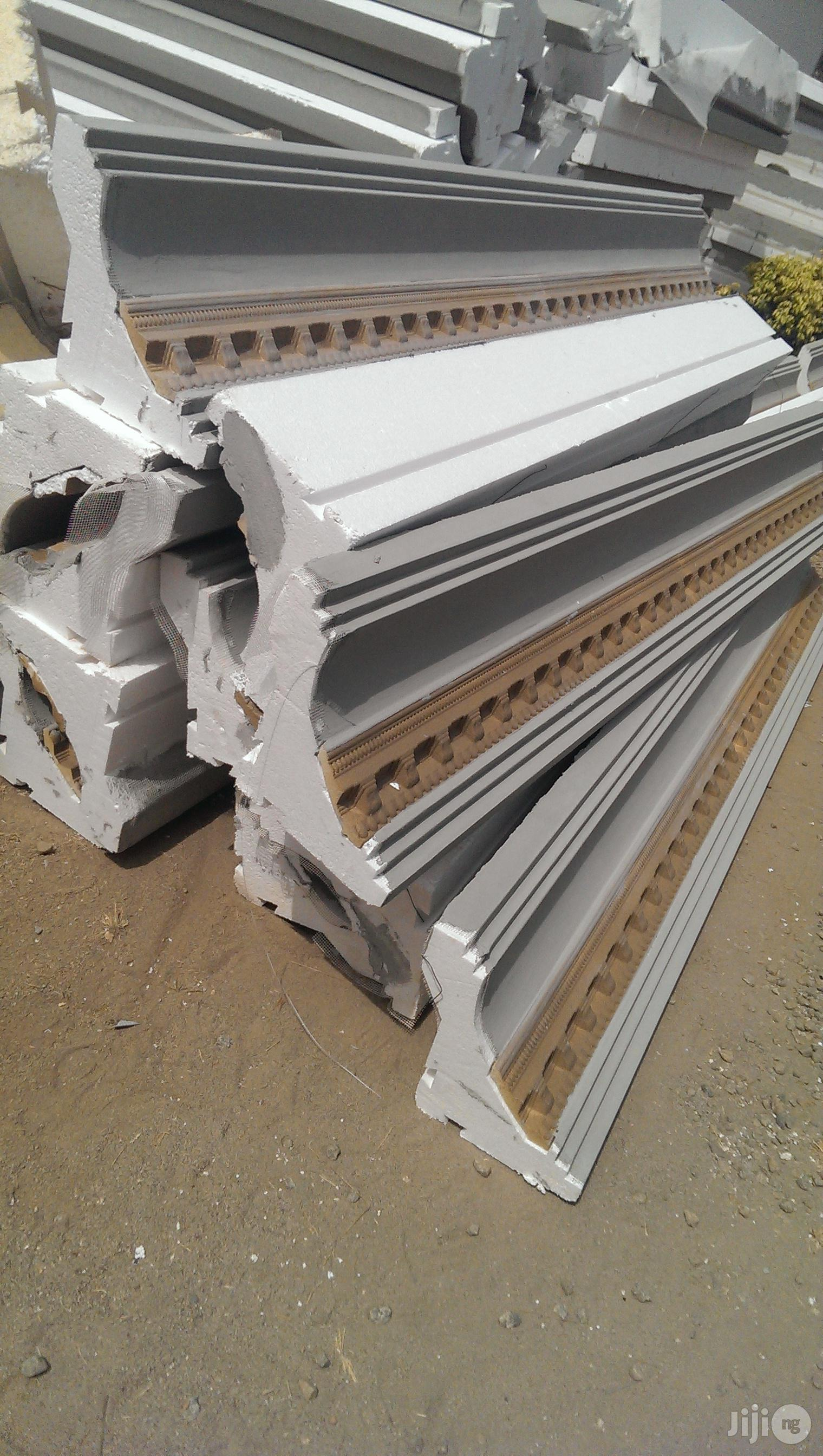 Polystytene Cornices/Parafet and Window Sill
